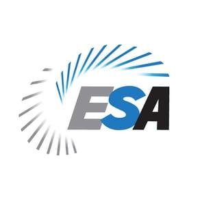 Electronic security association logo, electronic security association, esa