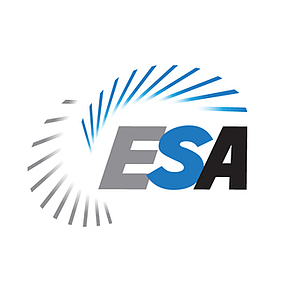 Electronic security association logo, electronic security association, esa