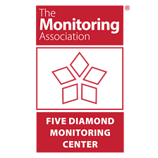 TMA five diamond logo