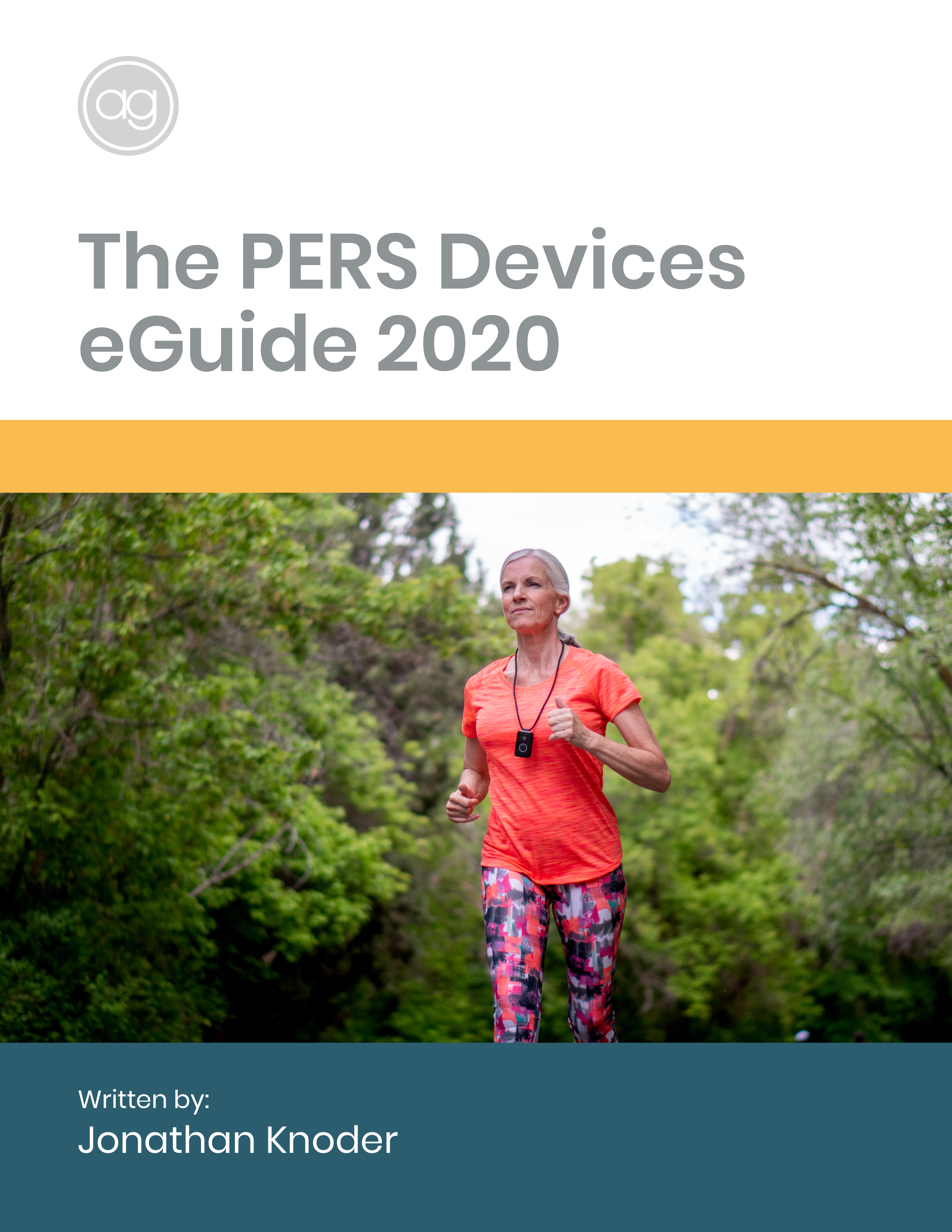 The PERS Device Guide Cover