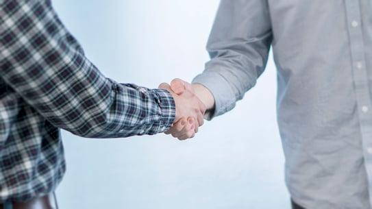 The Ultimate Handshake, partnership