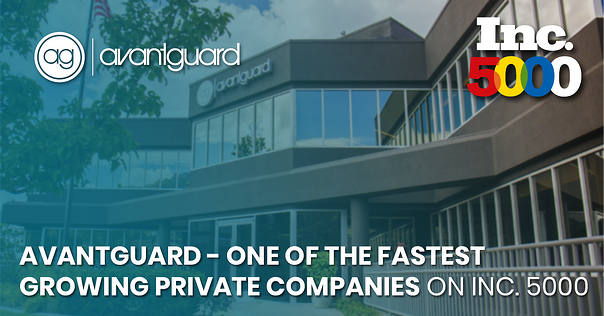 AvantGuard – One of the Fastest Growing Private Companies on Inc 5000-fb