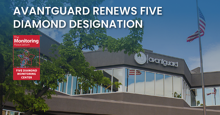 AvantGuard Renews Five Diamond Designation(fb)