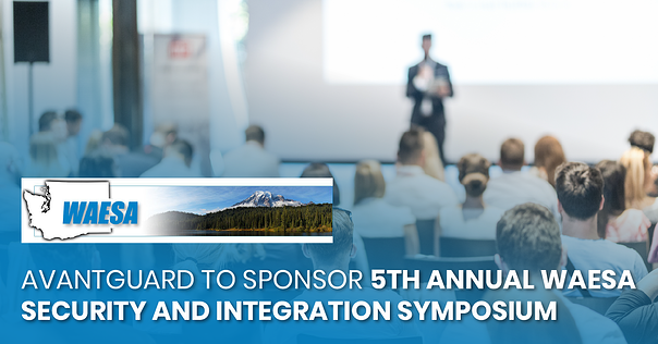 AvantGuard to Sponsor 5th Annual WAESA Security and Integration Symposium-fb