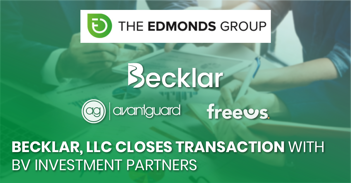 Becklar, LLC Closes Transaction with BV Investment Partners_fb