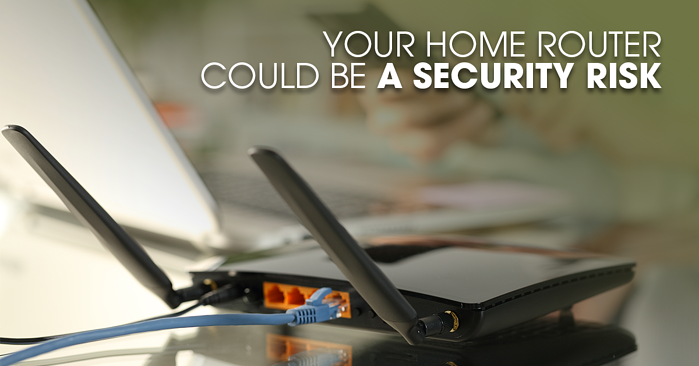 Your Home Router Could Be a Security Risk Banner FB