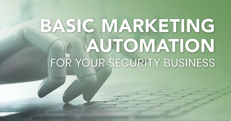 marketing automation, security company