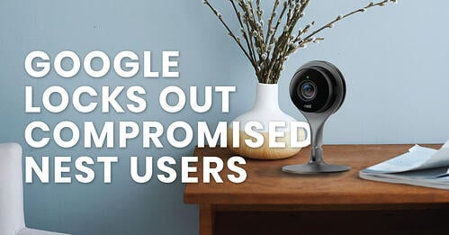 Nest, Google, lock out