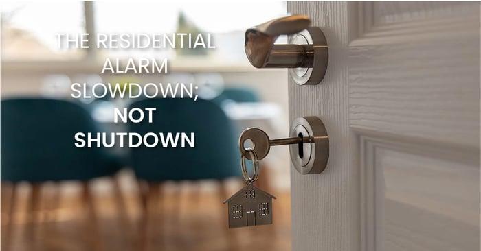 the residential slowdown; not shutdown_fb