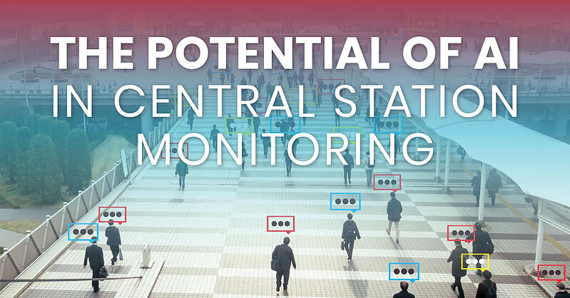 central station monitoring, artificial intelligence, AI