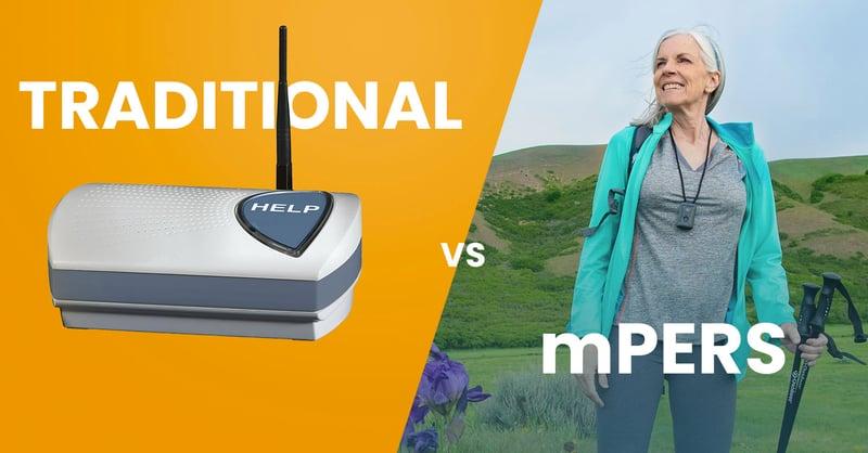 landline PERS, mobile PERS, monitoring, seniors