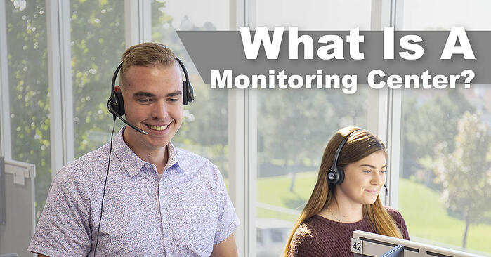 what is a monitoring center, central station, operators