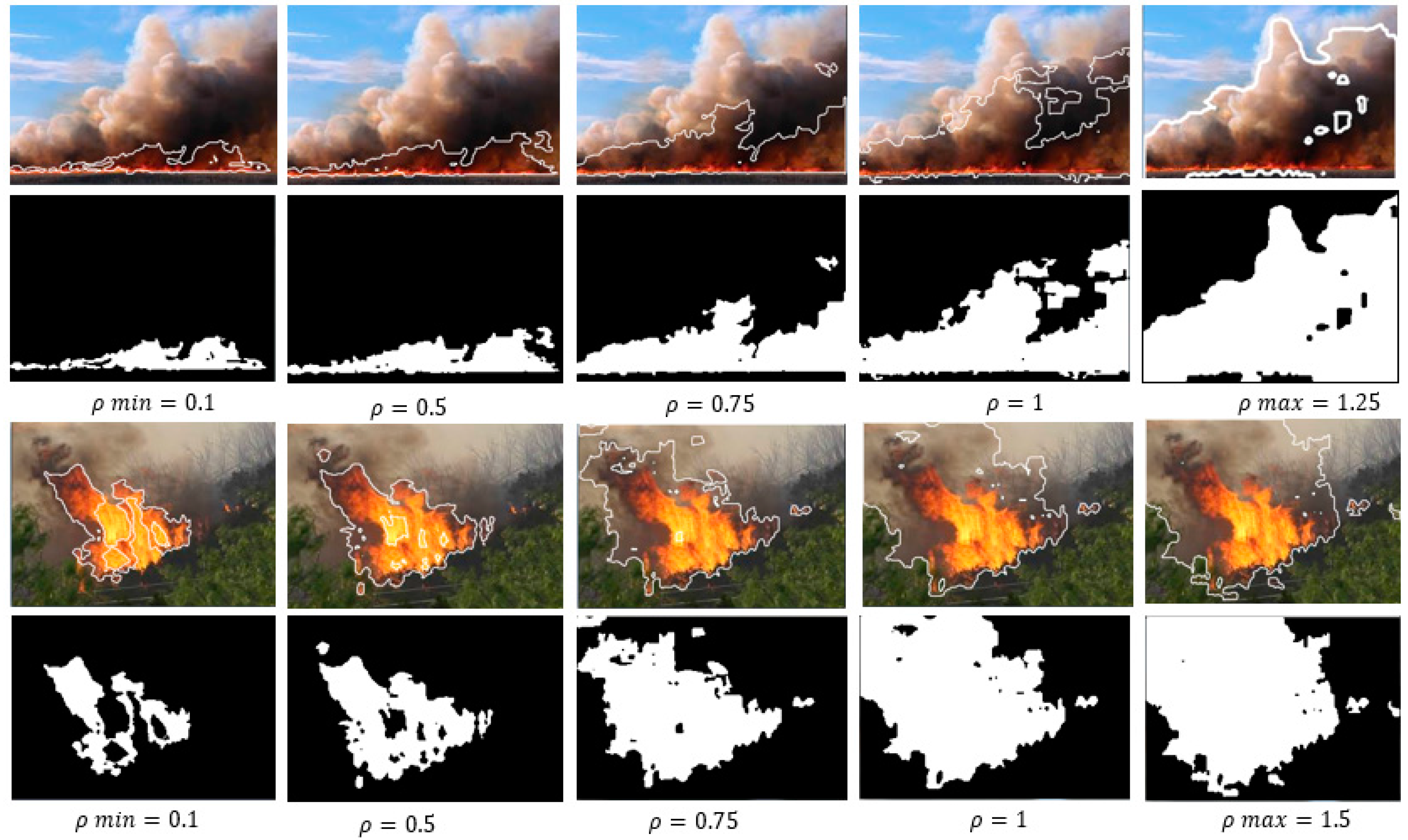 firefighting drone, AI, image-based fire detection