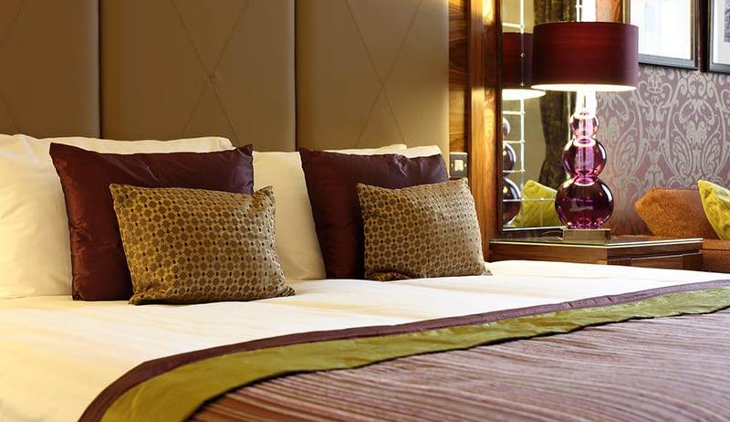 hotel room bed, las vegas
