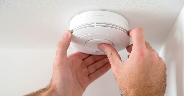 installing, smoke, c02, carbon monoxide, detector