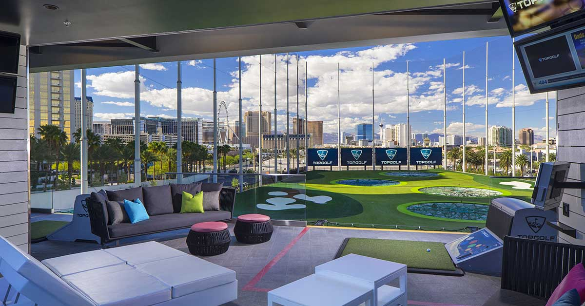 top golf, las vegas, isc west