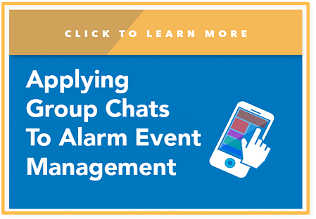 AG Chat, alarm event management