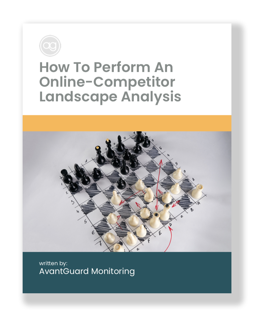 Competitor Analysis Cover