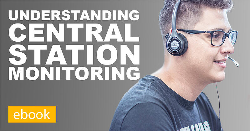 central station monitoring, what is central station monitoring
