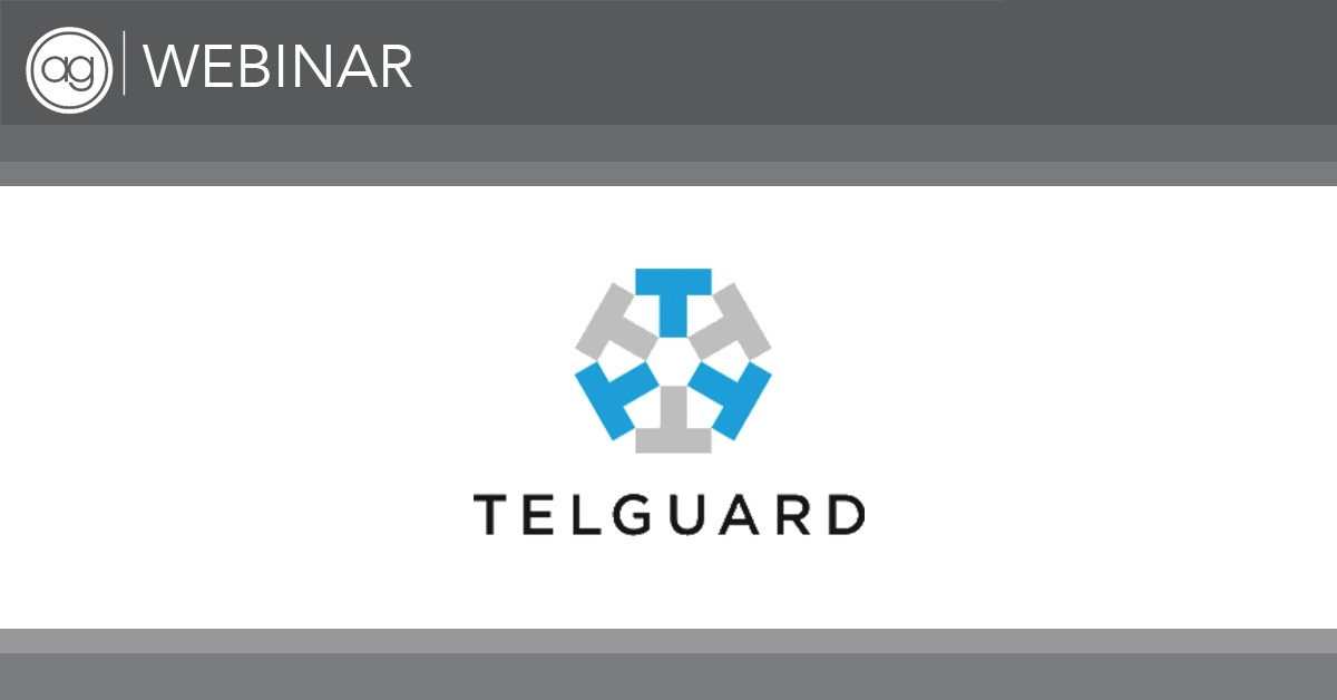 ag webinar, telguard