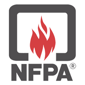 nfpa logo, national fire protection association, nfpa 72
