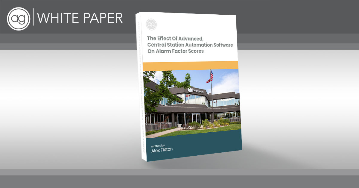 white paper, central station automation, alarm factor score