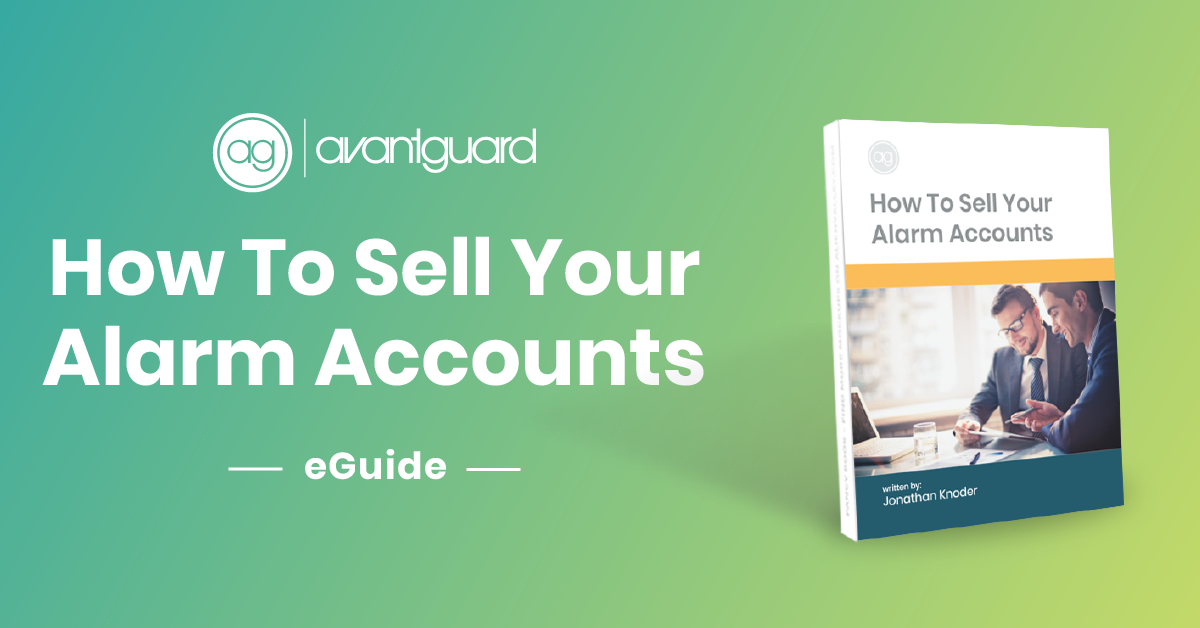 eGuide, how to sell your alarm accounts