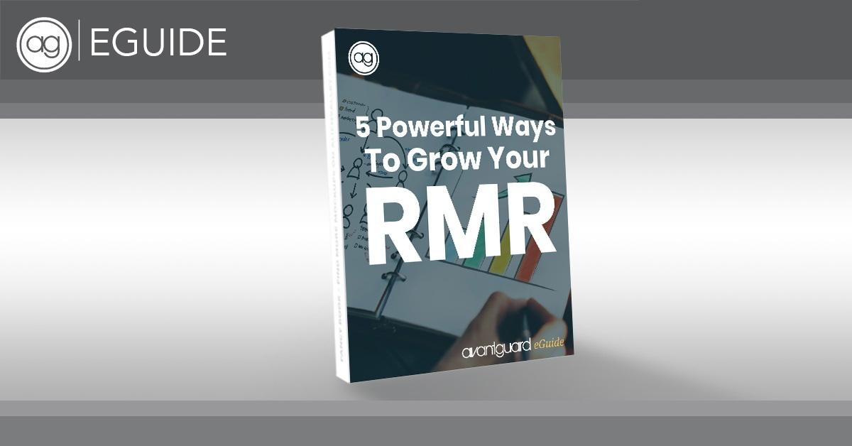 recurring monthly revenue, rmr, monthly recurring revenue, mrr