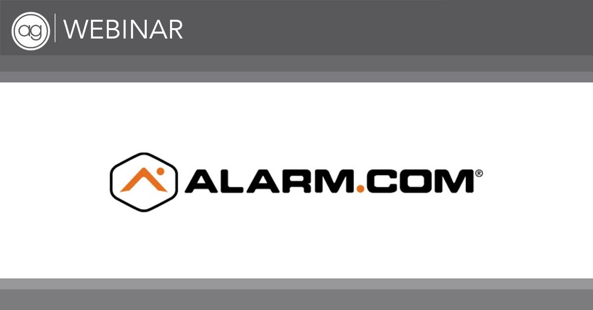 alarm.com, ag webinar, growth and productivity services
