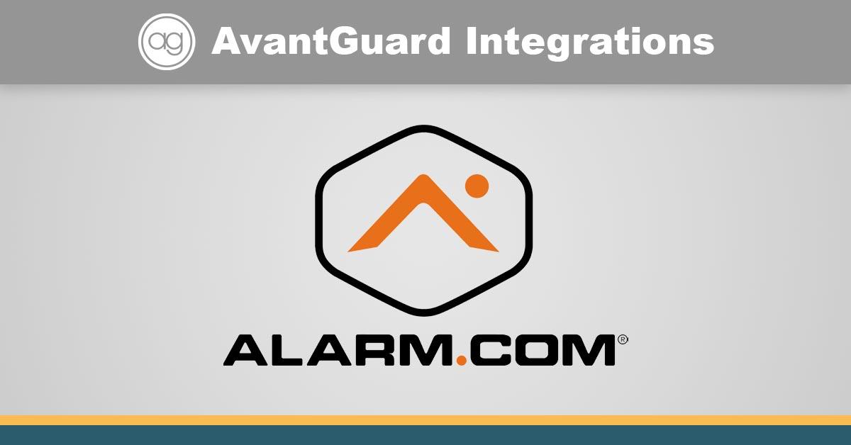 alarm.com, crm, security, integration
