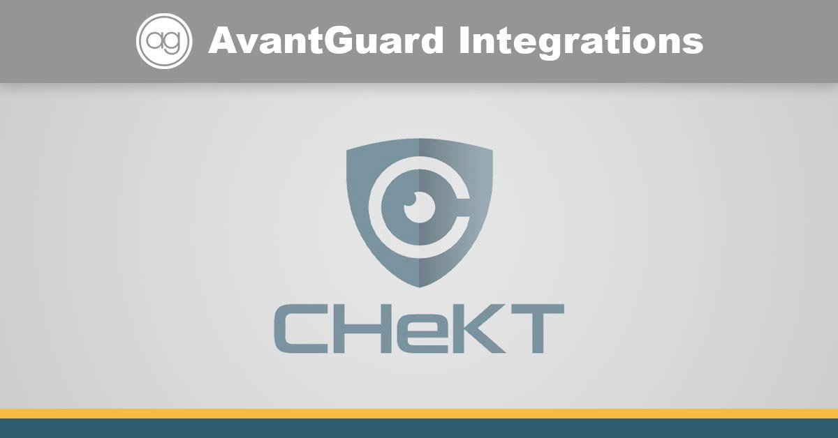 CHeKT, integrated Video, security video