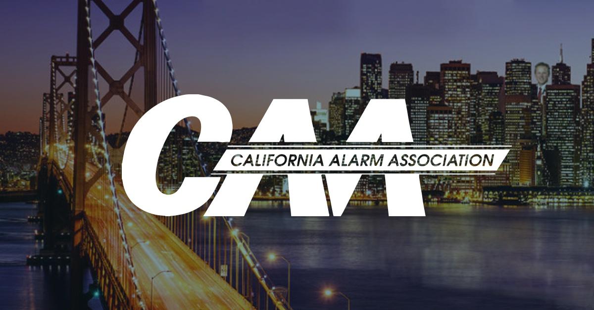 California Alarm Association, CAA, logo