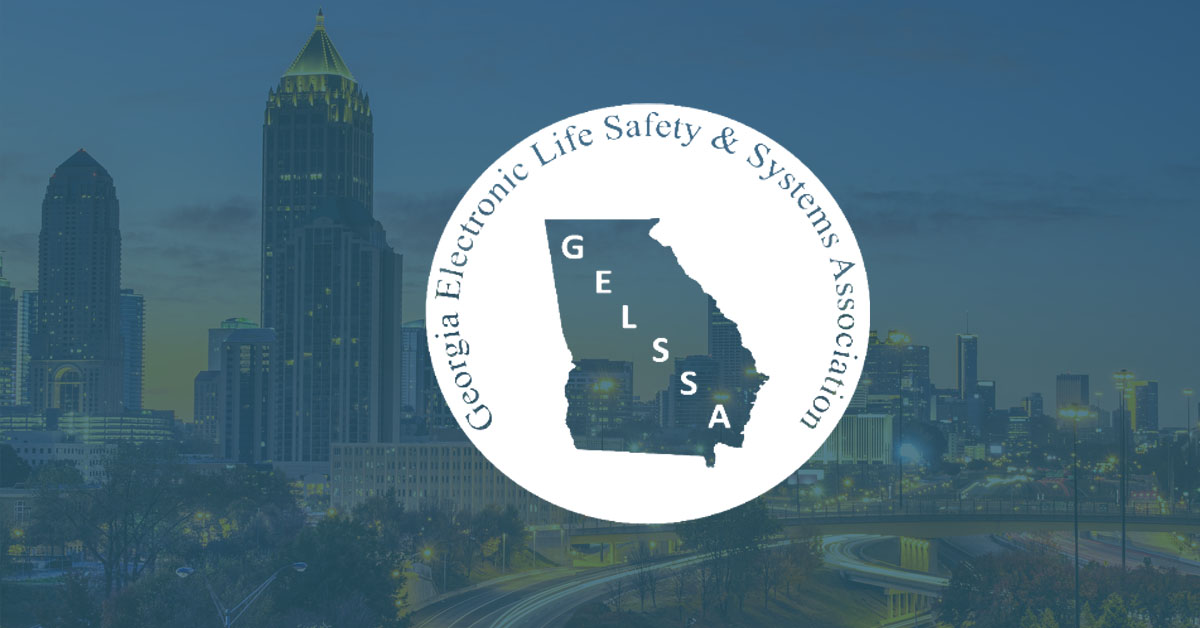 Georgia Electronic Life Safety & Systems Association, GELSSA, logo