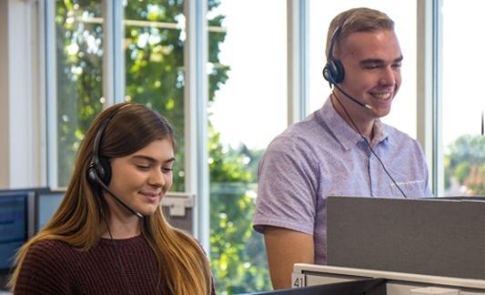 operators, customer service, alarm monitoring