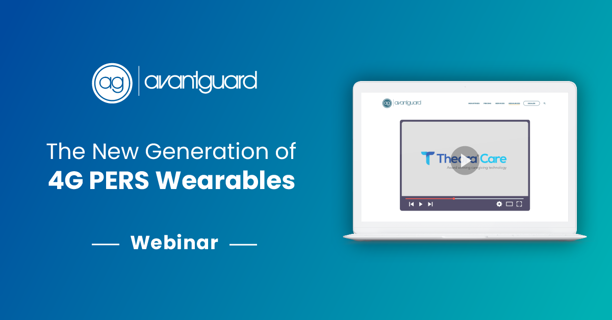 Webinar, New 4G PERS Wearables